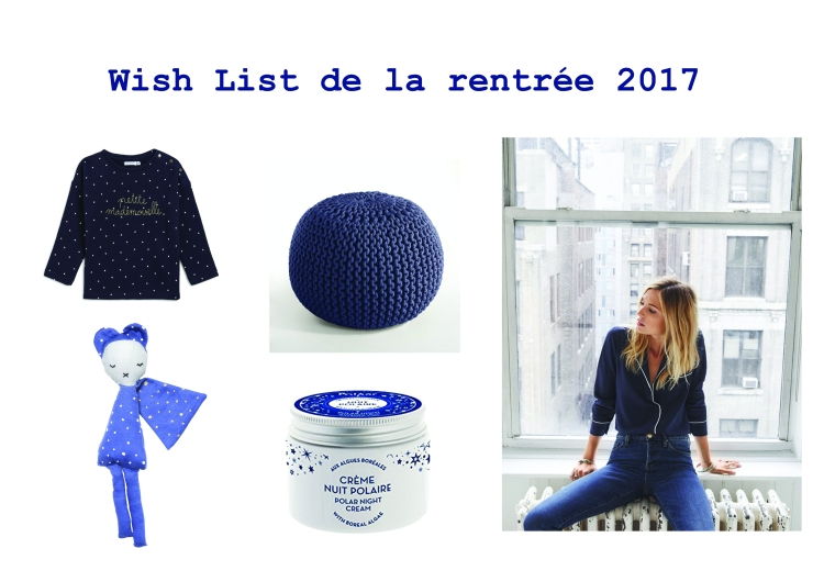 wishlist rentree 2017